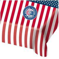 obrus foliowy USA AMERYKA flaga 130x180