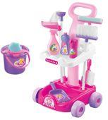 Zestaw Do Sprzątania Na Wózku Mop Wiaderko Y281