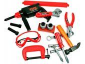 Skrzynka z narzędziami Dla Dzieci Wiertarka Warsztat Walizka Y160 zdjęcie 9