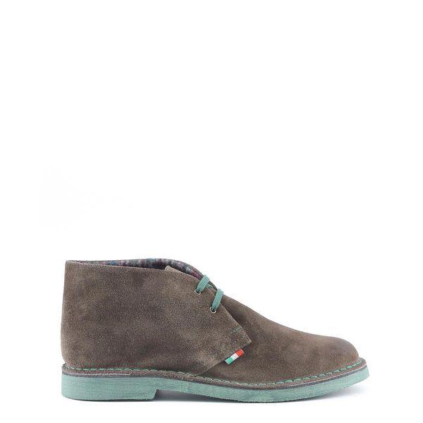 f76b27b2a35c82 Made in Italia skórzane buty męskie sztyblety szary 41 « Trzewiki ...