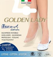 Balerinki Golden Lady 6P Cotton naturale/odc.bezowego 39-42