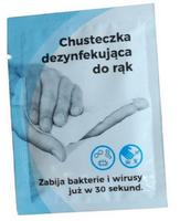 chusteczki do dezynfekcji nasączone alkoholem 70% izopropylowym