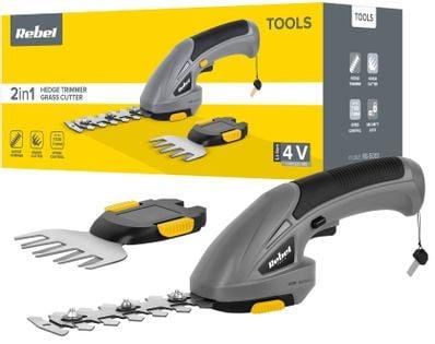 Nożyce akumulatorowe do krzewów i żywopłotu (4 V)