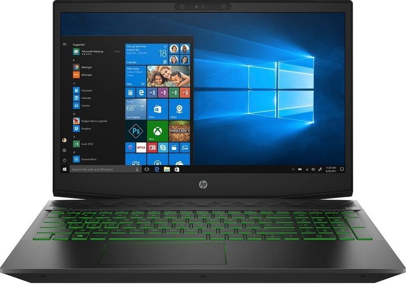 HP Pavilion Gaming 15 FullHD IPS Intel Core i5-8300H 16GB DDR4 512GB SSD NVMe NVIDIA GeForce GTX 1050 Ti 4GB Windows 10 zdjęcie 1