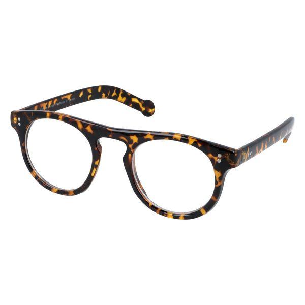 Owalne okulary zerówki vintage zdjęcie 2