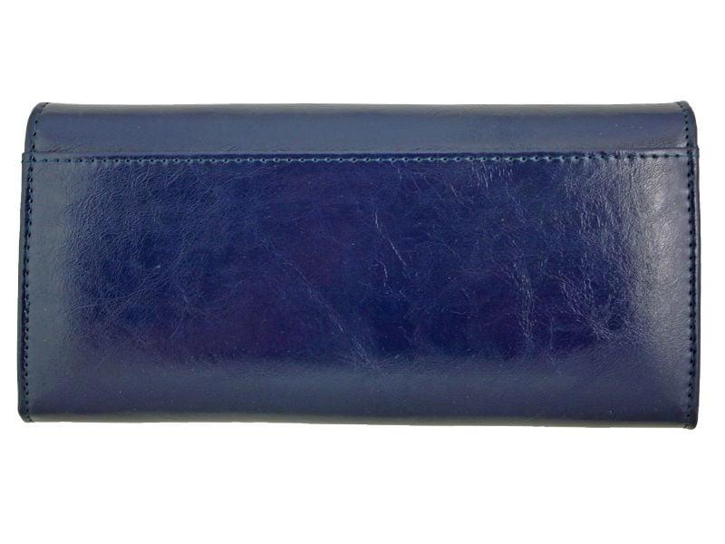 Duży granatowy portfel damski, RFID, Peterson zdjęcie 2
