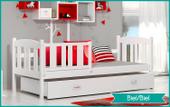 Łóżko dla dzieci KUBUŚ P COLOR 180x80 szuflada + materac