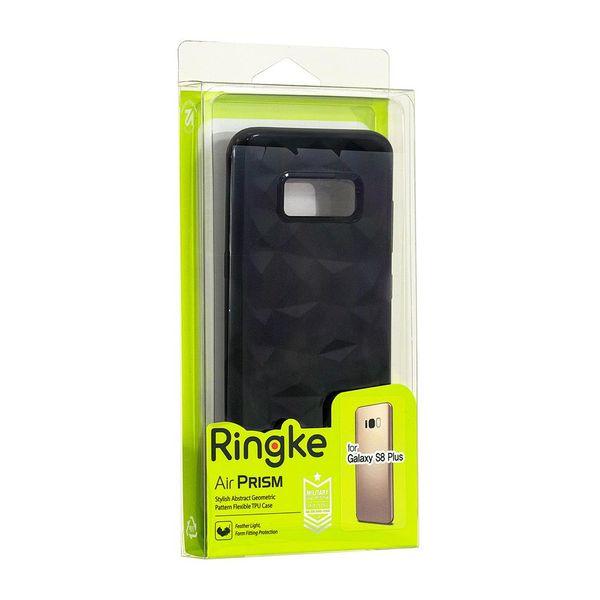 Ringke Air Prism Designerskie Żelowe Etui Pokrowiec 3D Iphone 8 Plus / 7 Plus Szary (Apap0008) zdjęcie 9
