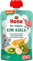 Bio Mus owocowy Kiwi koala gruszka&banan&kiwi 8m+ Holle