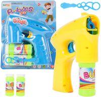 Bańki mydlane Pistolet dla Dzieci + 2 płyny U278