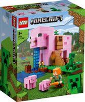 LEGO 21170 MINECRAFT Dom w kształcie świni p3