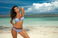 Kostium Kąpielowy Nathalie Sky Blue M-391 (18) Rozmiar L