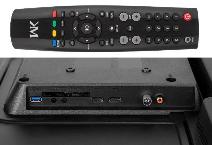 """Telewizor Kruger&Matz 32"""" KM0232T HD DVB-T2 H.265 zdjęcie 4"""