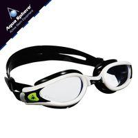 Okulary pływackie KAIMAN EXO Kolor - Aqua Sphere - Kaiman EXO - EP116119 - biały / czarny / jasne szkła