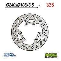 NG335 TARCZA HAMULCOWA DERBI 50 SENDA R/R-RACER/X-TREME/X-RACE '00-'09 (240x108x3,5)