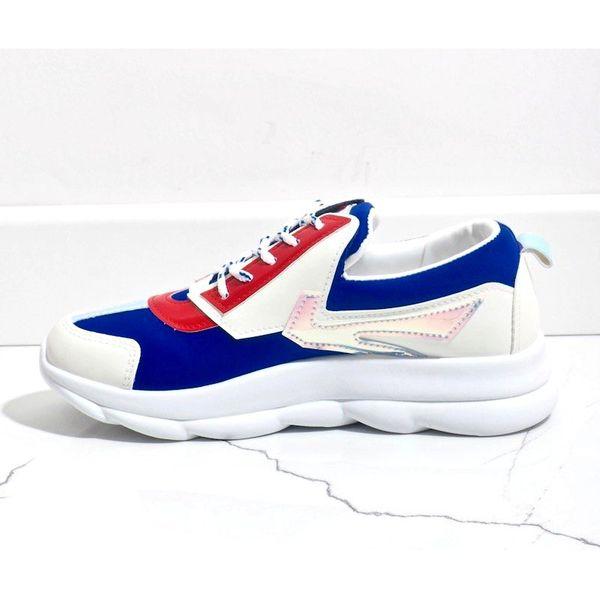 Białe sneakersy sportowe damskie W-3112 r.41 zdjęcie 3