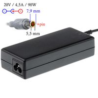 Zasilacz do notebooka Akyga AK-ND-18 20V/4.5A 90W 7.9x5.5 mm + pin