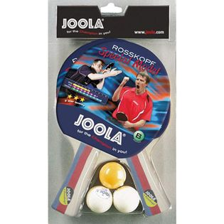 Zestaw do tenisa stołowego JOOLA 2 rakietki 3 piłeczki