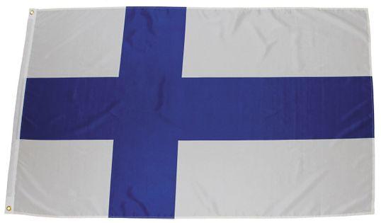 FLAGA FINLANDIA  150 x 90 cm