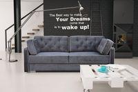Kanapa MONAKO BIS, styl skandynawski, wygodna, stylowa sofa