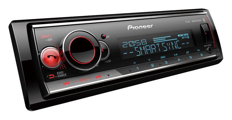 Pioneer MVH-S520BT Radio USB ANDROID ios ZMIENNE PODŚWIETLENIE GW D2D na Arena.pl