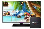 TV BOX MXQ PRO S905x Android 7 SMART 4K 2GB RAM zdjęcie 2