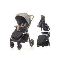 4 BABY Wózek spacerowy STINGER AIR Pompowane Koła kolor GREY