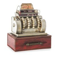 Pudełko na biżuterię ADEN 27X23X16 brąz