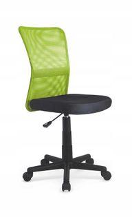 Fotel do biurka DINGO młodzieżowy ZIELONY obrotowy