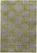 Dywan zielony szary miękki przytulny 80x150_CARPET