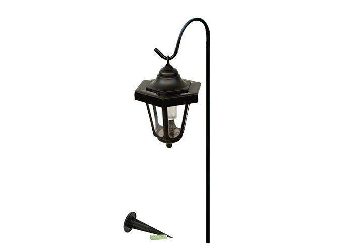 Lampa solarna w kształcie latarni LED, wysokość 70 cm zdjęcie 4