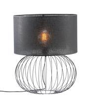 Lampa stołowa 1xE27 BIG BALL Namat-różne kolory Kolor abażura Namat - Czarny transparentny