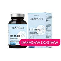 Immuno Ekstrakt z czosnku acerola cynk witamina C 60 kapsułek 60 porcji 50,5 g Prenacaps ForMeds