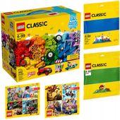 LEGO CLASSIC 10700 + 10714 + 10715 + 2 KATALOGI