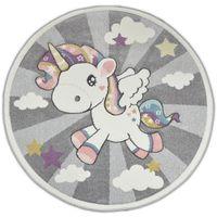Dywan dla dzieci Diamond Kucyk KONIK PONY 502874 koło 120x120cm