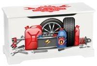 Magiczna skrzynia na zabawki Serwis Samochodowy