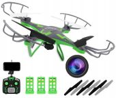 Dron OVERMAX X Bee drone 3.1 Kamera Wi-Fi + 3 akumulatory V05S
