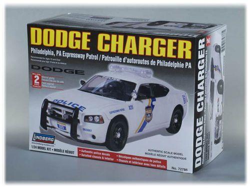 Model do sklejania Radiowóz Dodge Charger 1:25 na Arena.pl