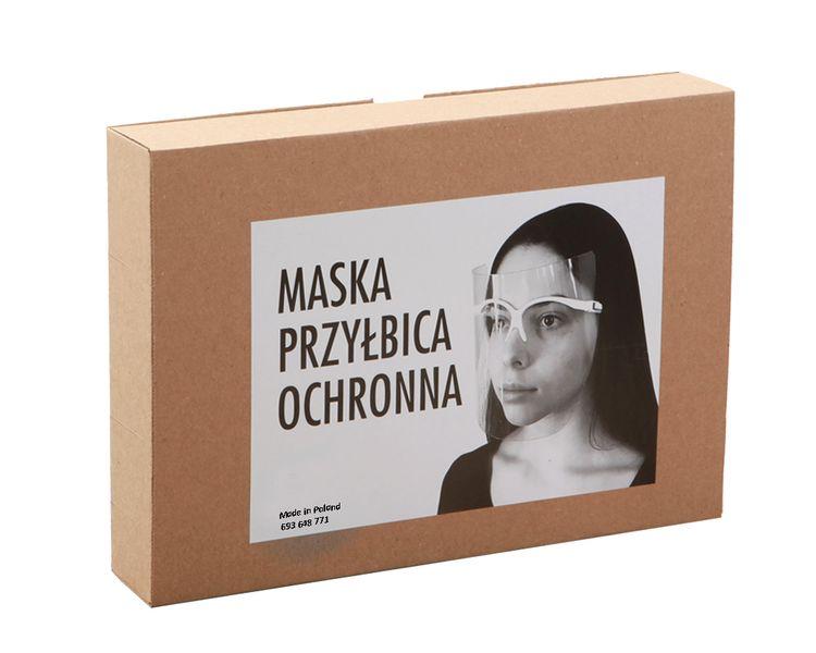 Przyłbica Ochronna Stomatologiczna ULTRALEKKA dla kosmetyczki fryzjera na Arena.pl
