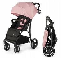 Wózek spacerowy spacerówka Kinderkraft TRIG lekki kolor: RÓŻOWY