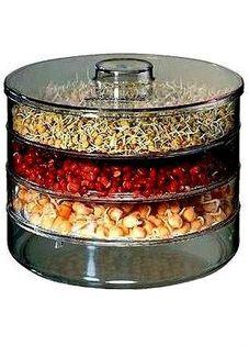 Kiełkownica 4 poziomowa kiełki nasiona zdrowie swe