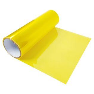 Folia Do Przyciemniania Lampy 30x50cm Polimer Żółta FL8