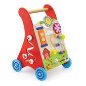 Viga Toys - Drewniany pchacz zabawkowy