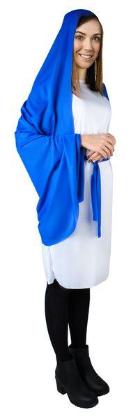 Kostium Maryji Strój Matka Boska Maryja na Jasełka 4777 zdjęcie 4