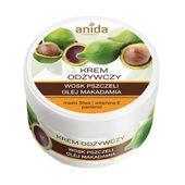 ANIDA Krem odżywczy wosk pszczeli olej makadamia 125 ml - Długi termin ważności!