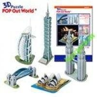Architektura światowa 3 puzzle 3d do składania hit