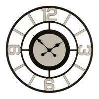 Zegar Ścienny Drewno Biała (80 x 4,5 x 80 cm)