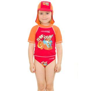 Slipy SURF-CLUB Kolor - Stroje męskie - Surf-club - 31 - czerwony, Rozmiar - Stroje dziecięce - 104 (3A)