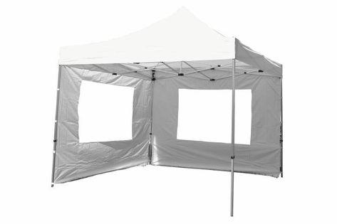Namiot ogrodowy 3x3 m automatyczny Profi, biały pawilon handlowy