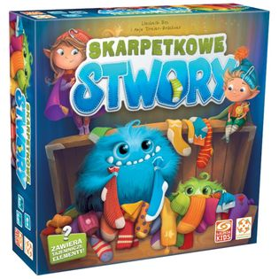 GRA SKARPETKOWE STWORY GALAKTA KIDS